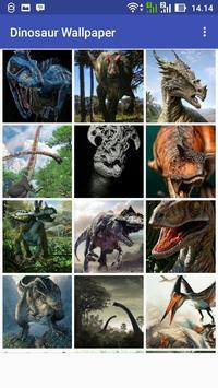 Dinosaur Wallpaper poster