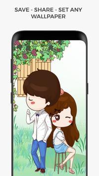 Cute Profile Wallpaper screenshot 2