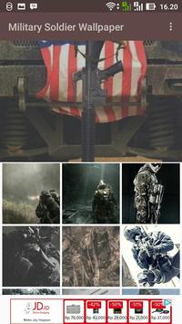 Military Soldier Wallpaper poster