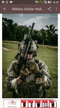 Military Soldier Wallpaper screenshot 1