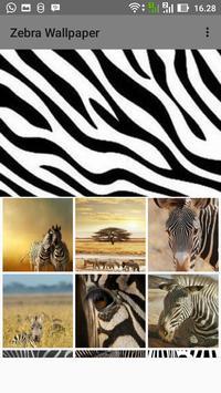 Zebra Wallpaper poster
