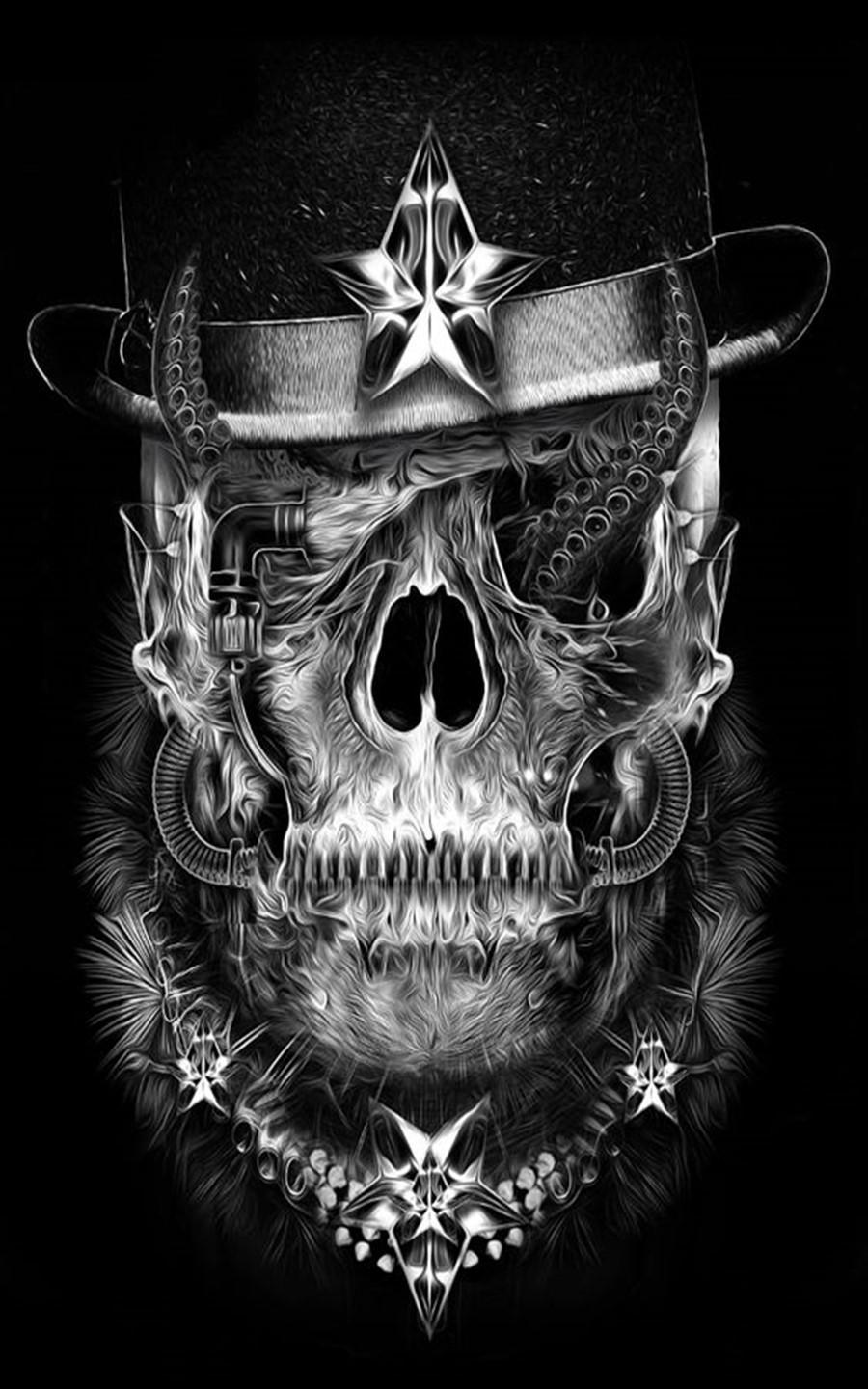 Skull Wallpaper for Android - APK Download