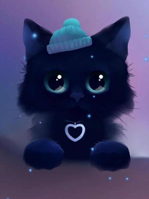 ... Kawaii Cat Wallpaper screenshot 4 ...