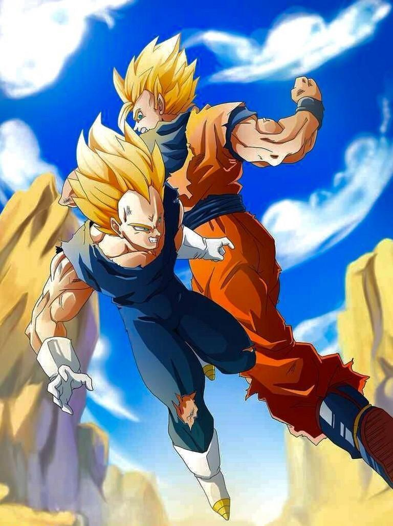 Goku Vs Vegeta Wallpaper Art For Android Apk Download