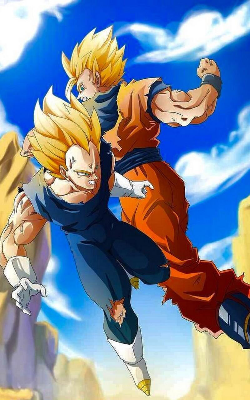 Goku Vs Vegeta Wallpaper Art For Android Apk Download