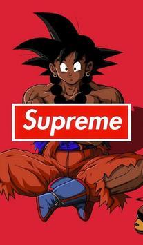 Goku x Supreme Wallpaper Art screenshot 12