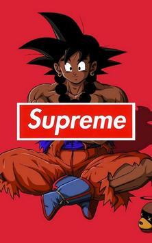 Goku x Supreme Wallpaper Art screenshot 7