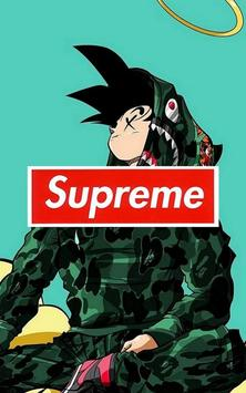 ... Goku x Supreme Wallpaper Art screenshot 5 ...