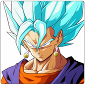 Vegeta SSJ Blue Wallpaper Art icon