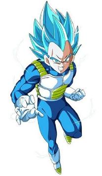 Vegeta SSJ Blue Wallpaper Art screenshot 8