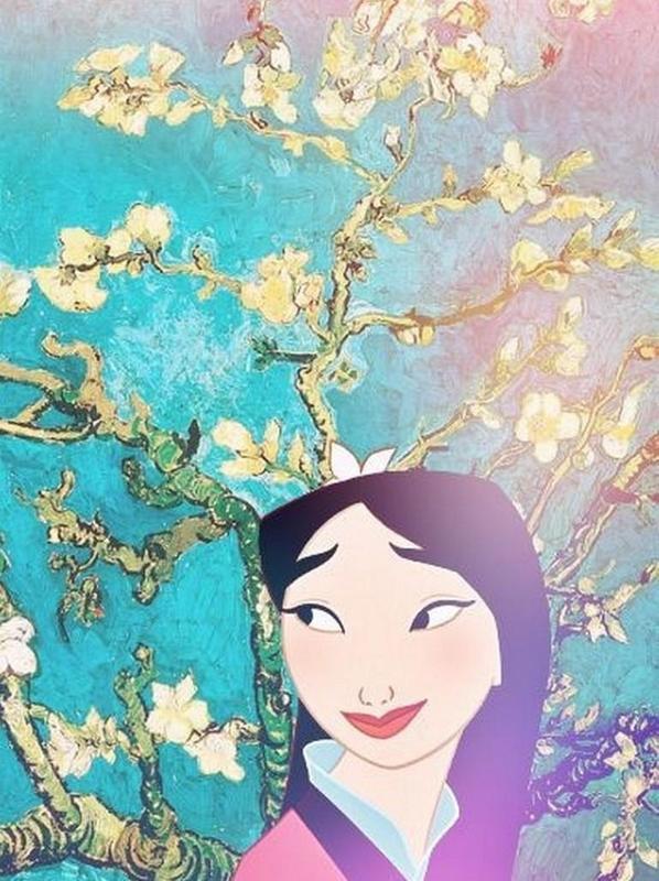 Mulan Wallpaper Art Poster