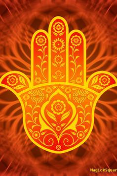 Hamsa Hand Wallpaper Poster Screenshot 1