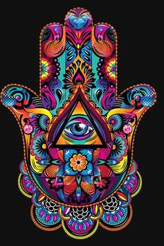 Hamsa Hand Wallpaper Screenshot 2