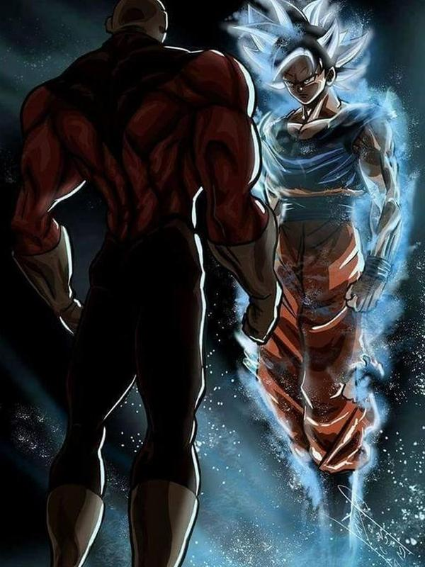 Goku Vs Jiren Wallpaper Poster