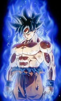 Goku Ultra Instinct Art Wallpaper Poster