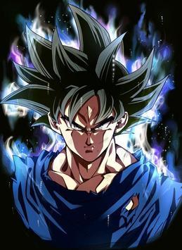 Goku Ultra Instinct Art Wallpaper Screenshot 2