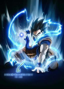 Goku Ultra Instinct wallpaper screenshot 1