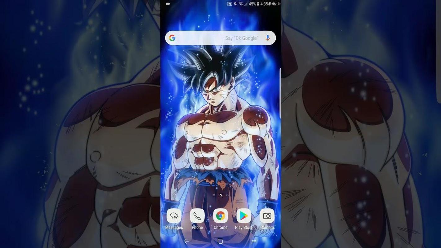 Goku Ultra Instinct Wallpaper Hd: Ultra Instinct Goku Wallpapers HD For Android