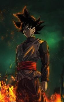 Goku Black Wallpaper Art screenshot 3