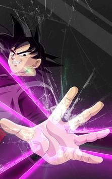 Goku Black Wallpaper Art poster