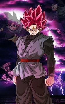 Goku Black Wallpaper Art screenshot 1
