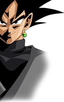 Goku Black Wallpaper Art screenshot 5