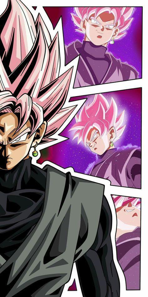 Black Goku Super Saiyan Rose Wallpaper For Android Apk Download