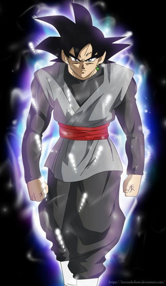 Black Goku Super Saiyan Rose Wallpaper For Android Apk