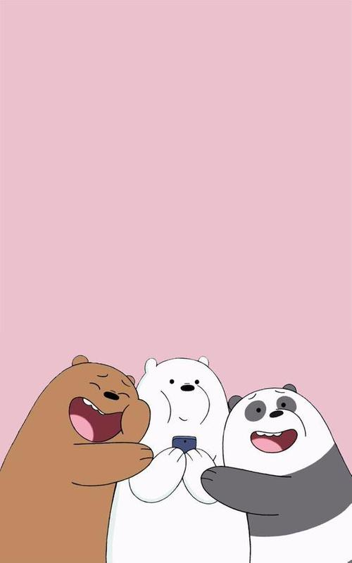 We bare bears wallpaper art for android apk download - We bare bears background ...