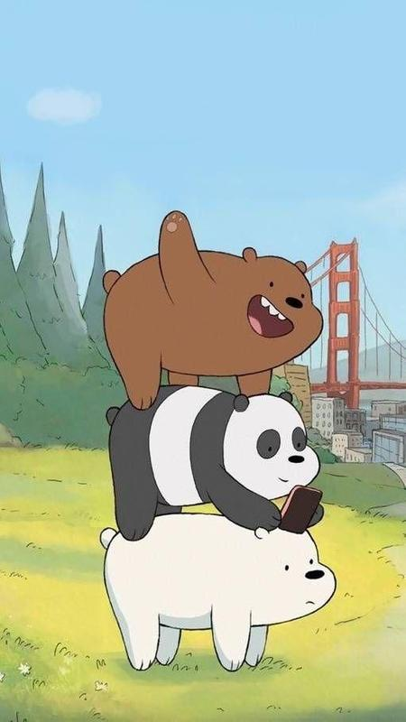 We bare bears wallpaper art for android apk download we bare bears wallpaper art screenshot 5 voltagebd Images