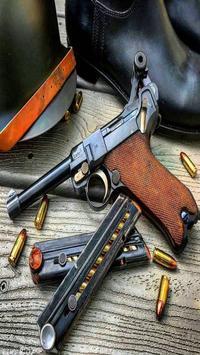 Guns Shooting Wallpaper HD poster
