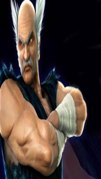 Heihachi Mishima Wallpaper HD apk screenshot