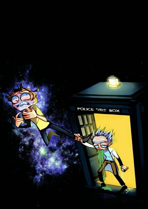 Rick and morty portal wallpaper for android apk download - Rick and morty download ...
