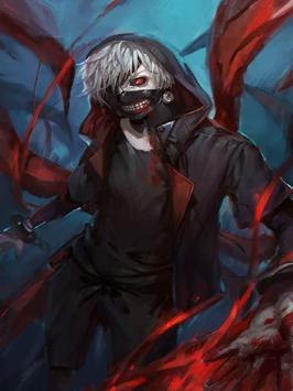 Tokyo Ghoul Wallpaper HD screenshot 5