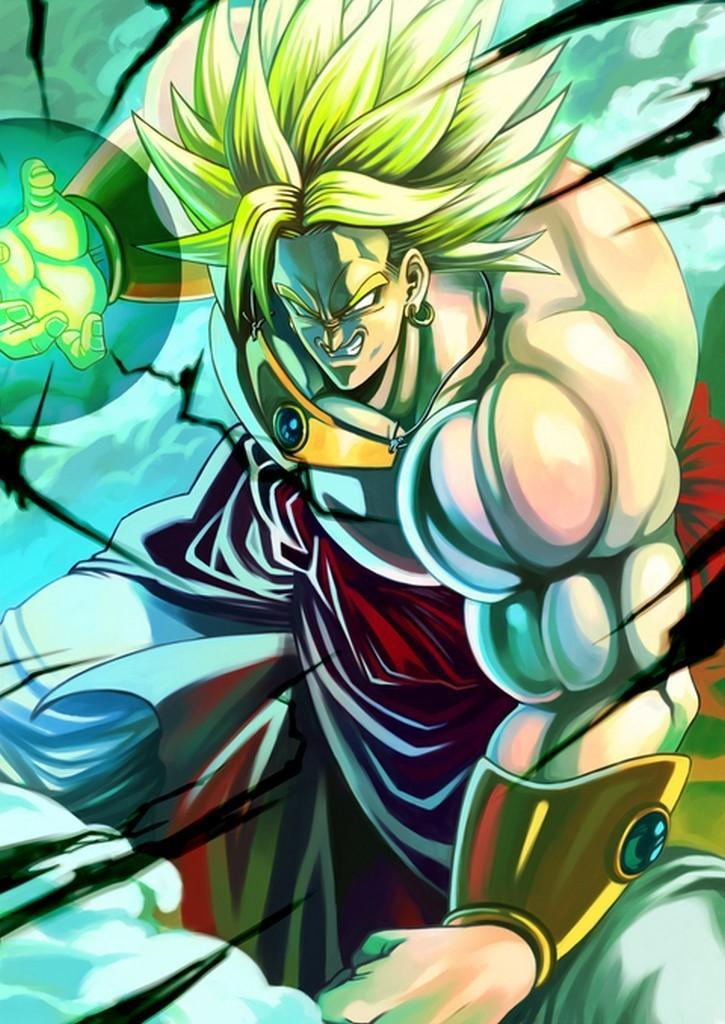 Broly Dragonball Wallpaper Art For Android Apk Download