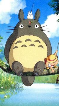 Totoro Wallpaper poster