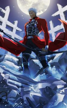 Archer Fate Stay Wallpaper Art HD poster