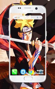 Anime HD Naru And Boru Wallpaper screenshot 3