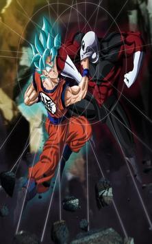 Goku vs Jiren Wallpaper poster