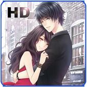 Anime Couple Wallpaper icon