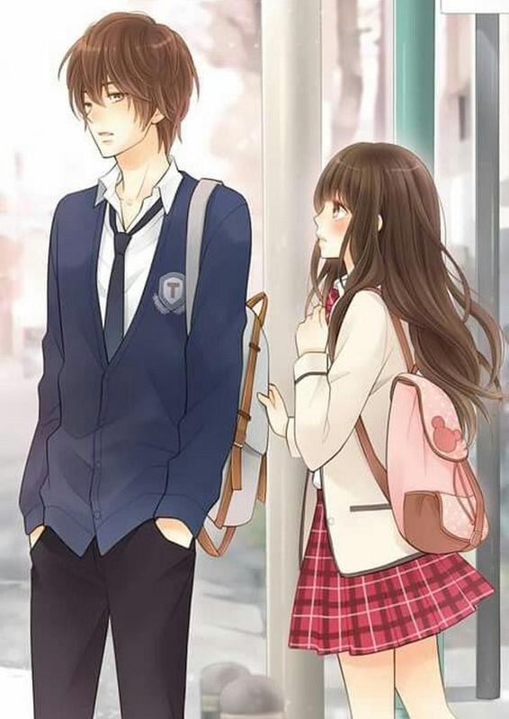 Anime couple wallpaper for android apk download - Anime couple pictures ...