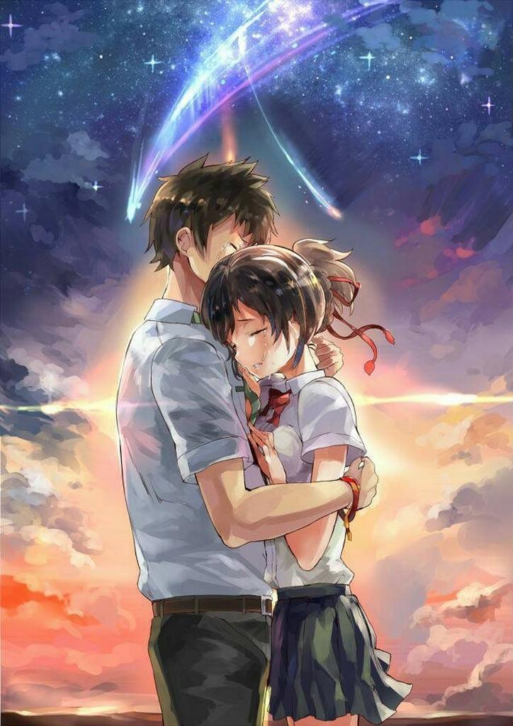 Anime couple wallpaper for android apk download - Couple wallpaper download ...