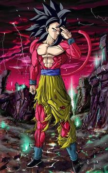 Goku SSJ4 Wallpaper imagem de tela 3