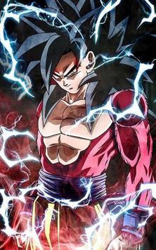 Goku SSJ4 Wallpaper Cartaz