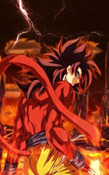 Goku SSJ4 Wallpaper imagem de tela 2