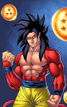 Goku SSJ4 Wallpaper imagem de tela 6