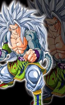 Goku SSJ5 Wallpaper poster