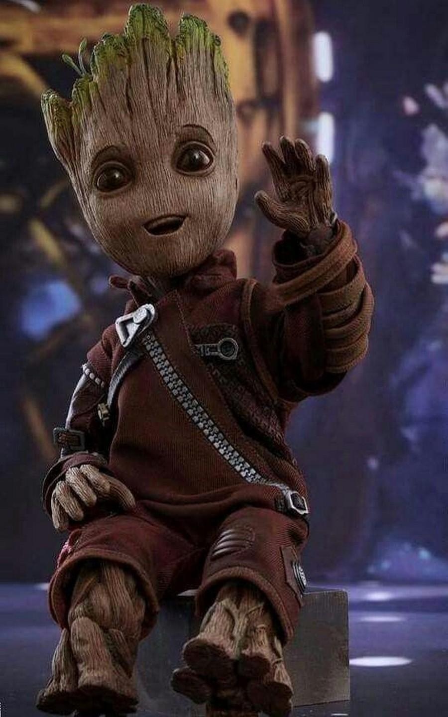 Baby Groot Wallpaper Art For Android Apk Download