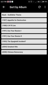 All Songs of Guns N' Roses screenshot 3