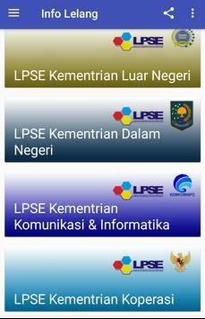 Info Lelang screenshot 1